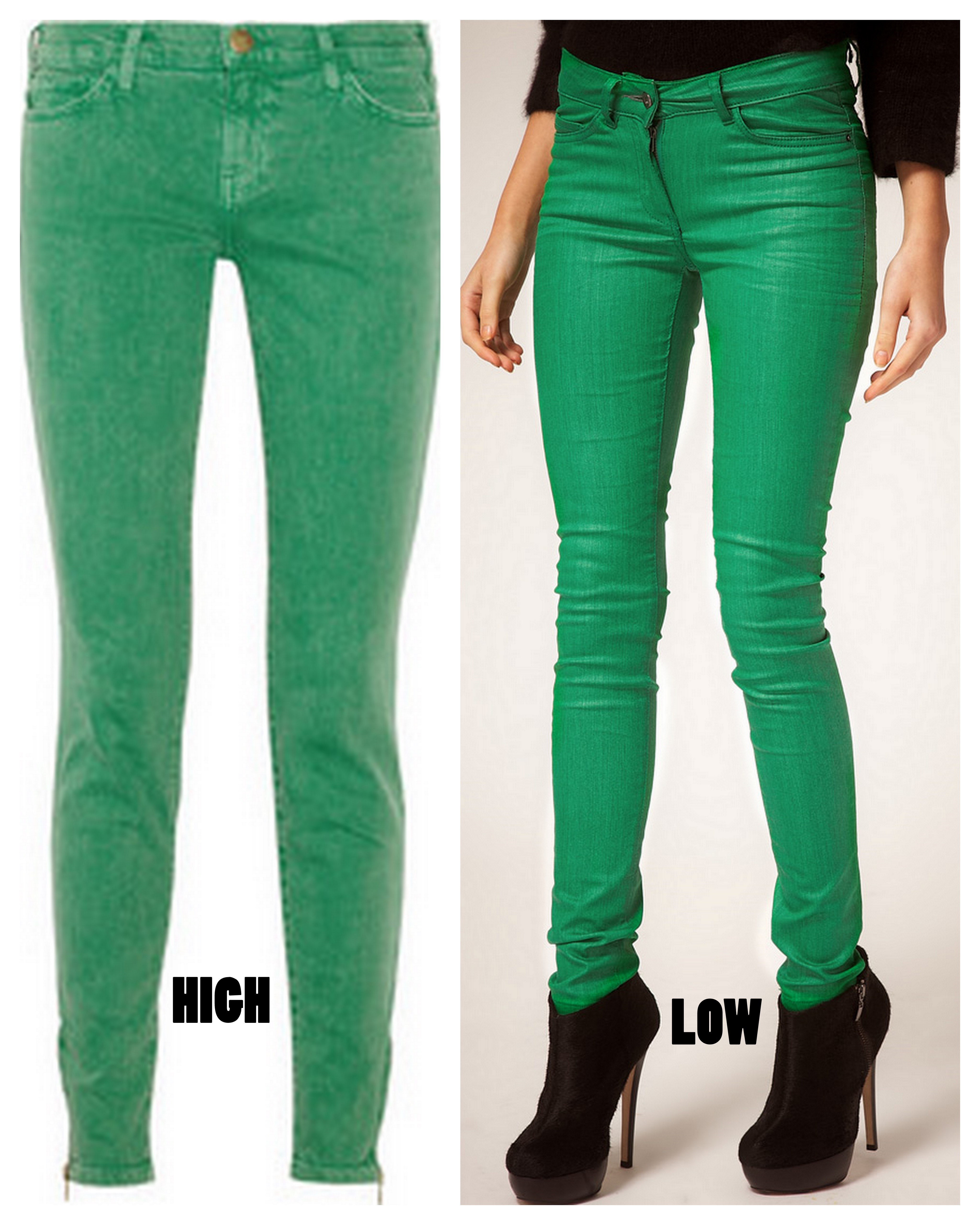 High & Low: Colored Skinnies | ALL THINGS MAJOR