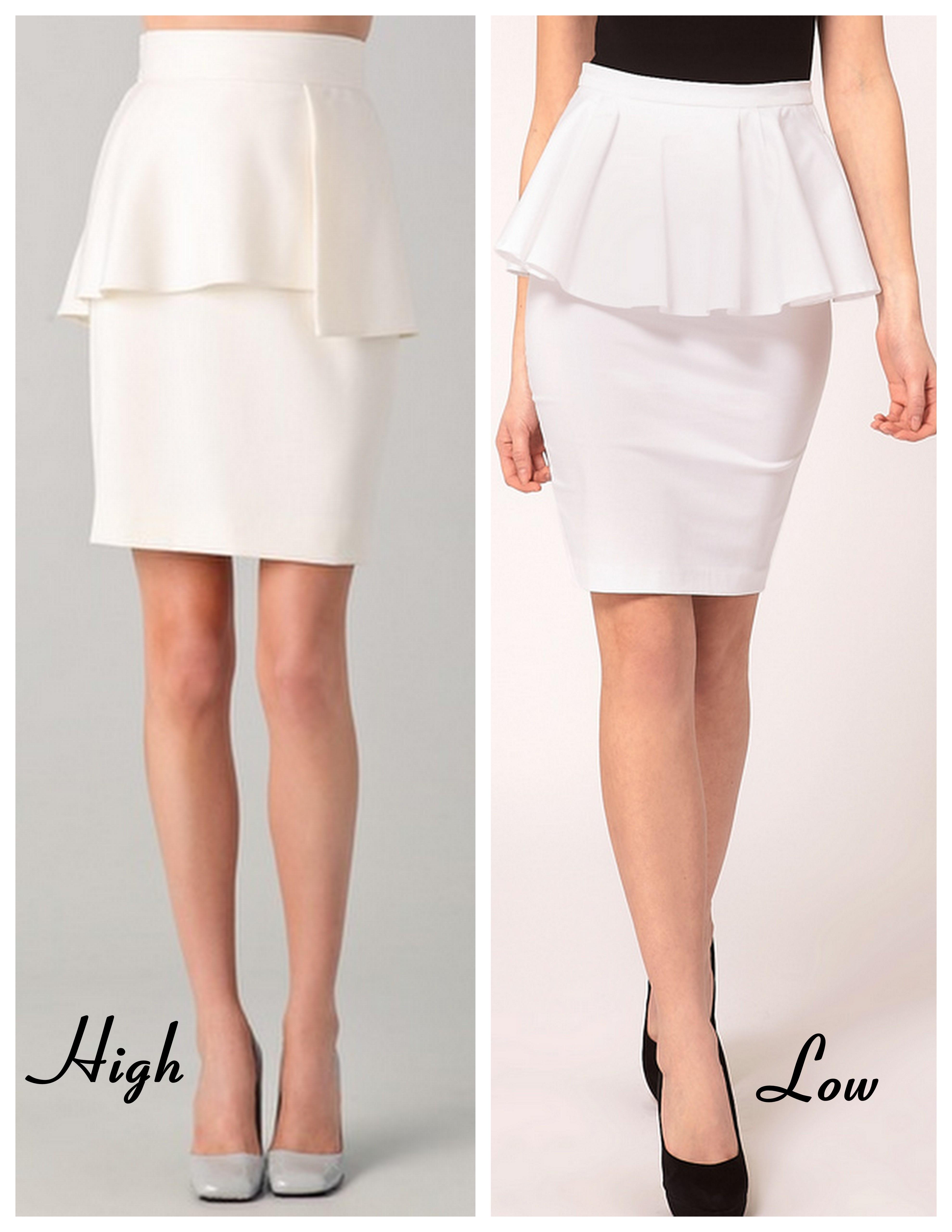 high low bracelets peplum skirts sunglass