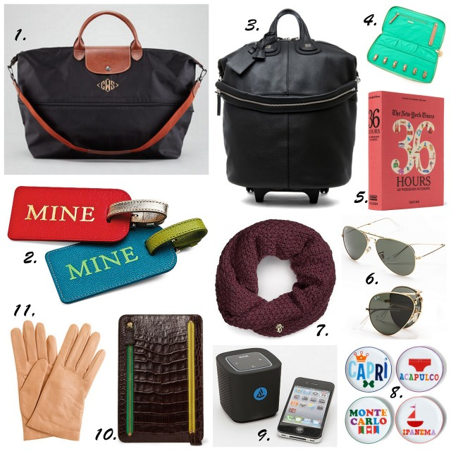 travel gift ideas holiday 2012