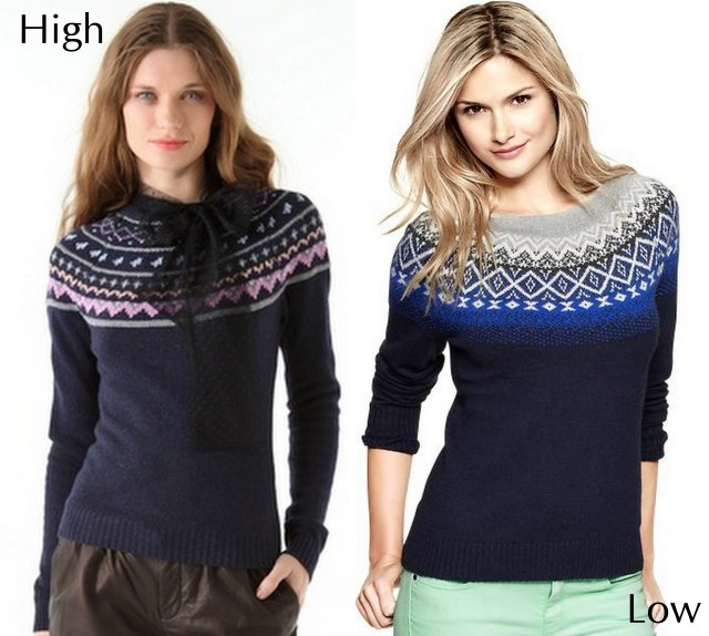 fair isle sweaters fall 12