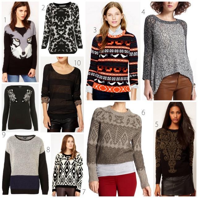 2012 sweaters under $100