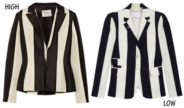 striped blazers