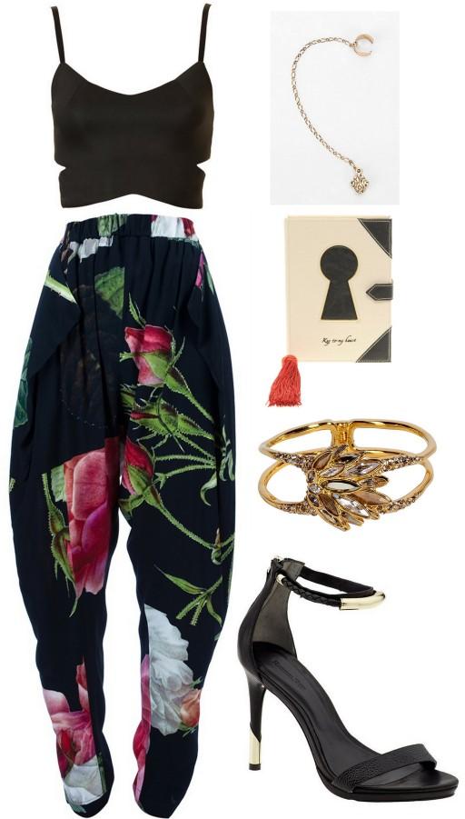 secret midnight garden outfit