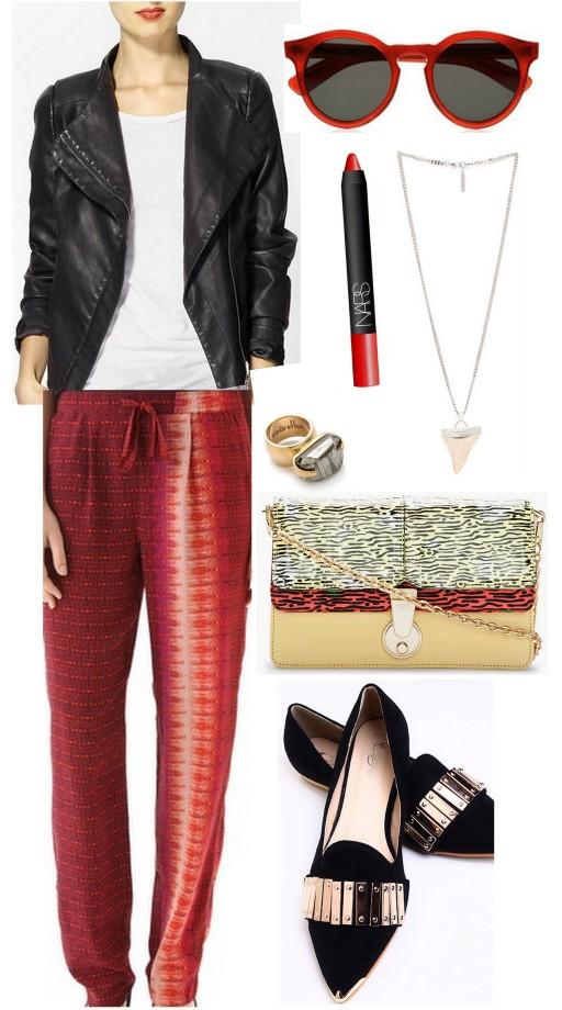 print pants ootd ruby tuesday all things major
