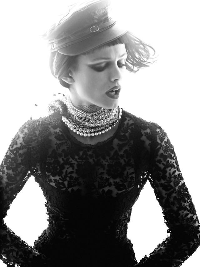 Edita Vilkeviciute by Alexi Lubomirski (Sound Check - Vogue Germany May 2013) 8