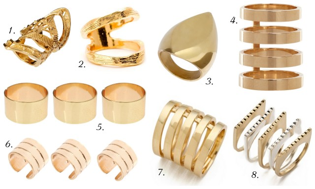 gold tunnel stackable rings shop the look outfit inspiration ALL THINGS MAJOR