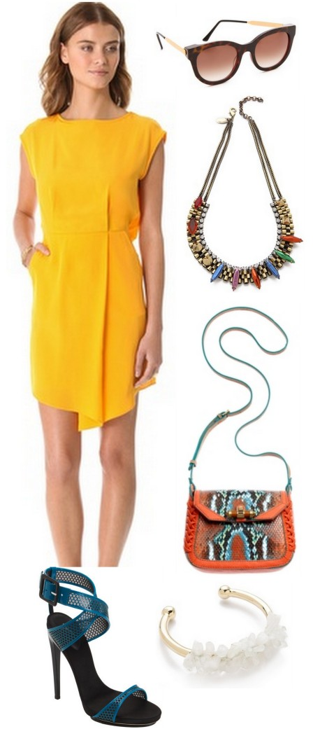 sunny side up business casual spring 2013 outfit ALL THINGS MAJOR