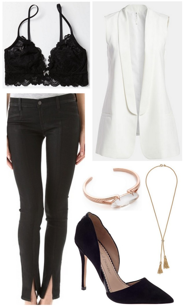 date night outfit shop the look spring 2013 white and black ALL THINGS MAJOR