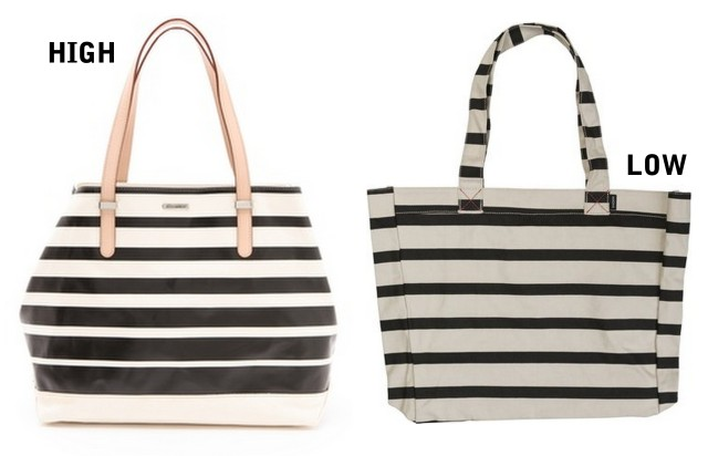 ALLTHINGSMAJOR striped beach totes HIGH LOW spring summer 2013