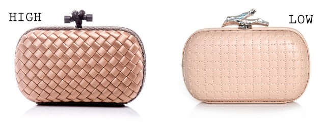 blush box clutches