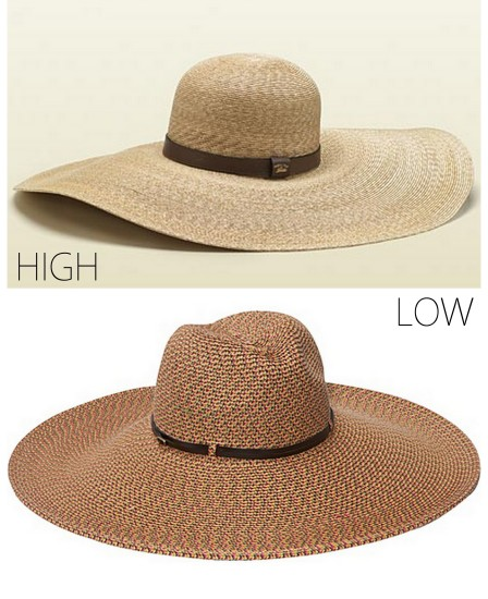 ALLTHINGSMAJOR Wide brim hats high low summer 2013