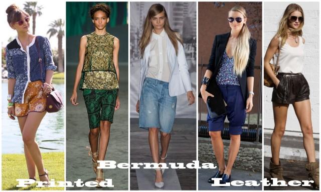 shorts trend spring summer 2013