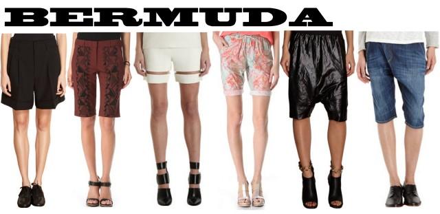 bermuda shorts spring/summer 2013