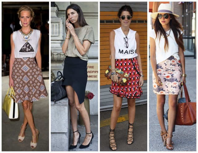 skirt tee style outfit inspo fall 2013 all things major blog