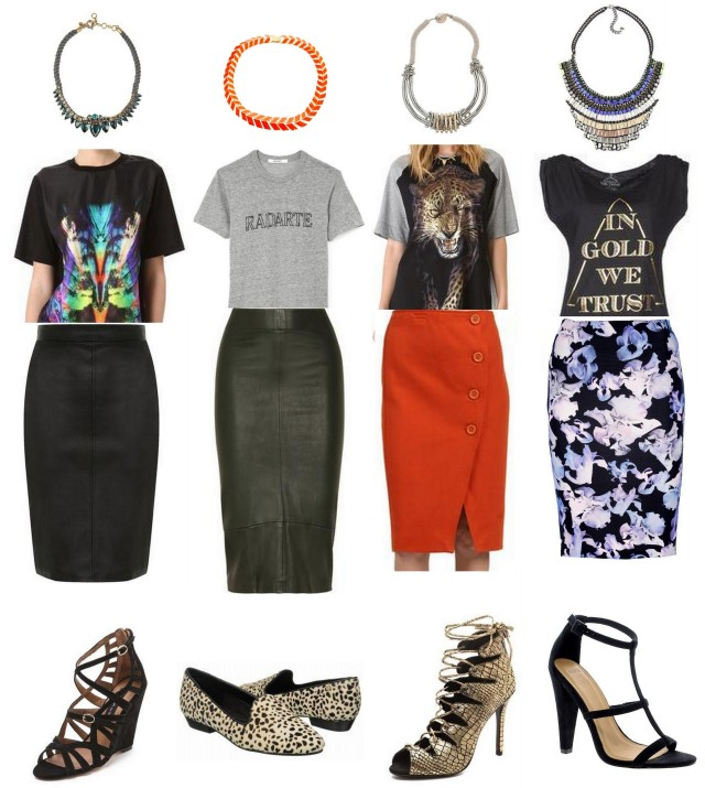 skirt tee styling trend shop the look fall 2013 all things major blog