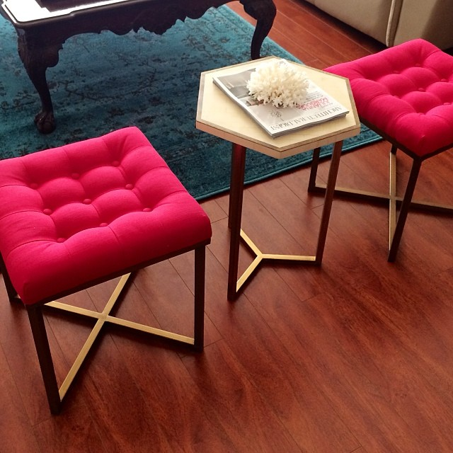 Target Threshold ottoman and table color design home ALL THINGS MAJOR BLOG