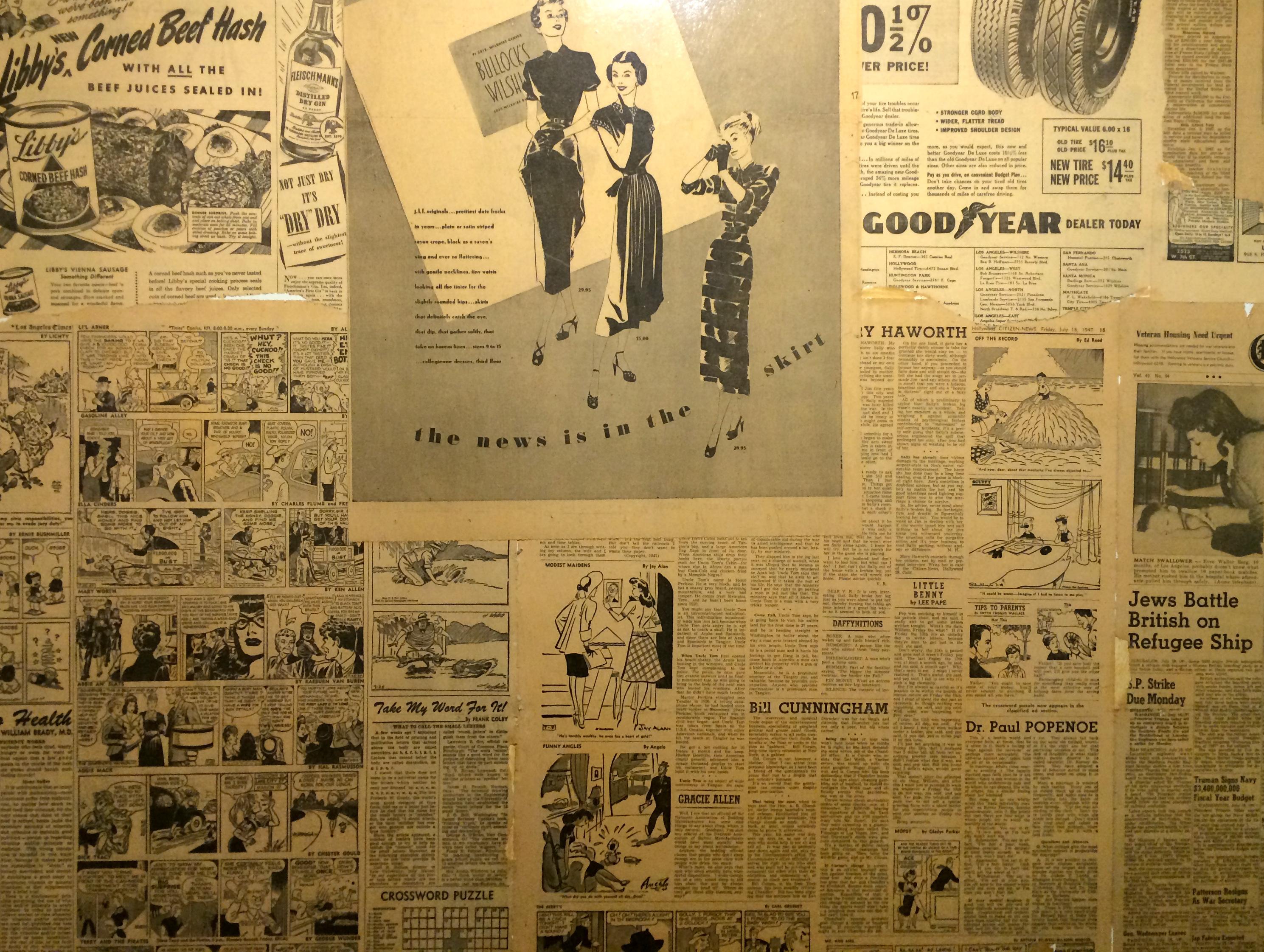 Vintage Newspapers And Magazines Vintage Magazine Ads on