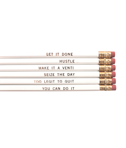 #WhistleWhileYouWork Pencil Set
