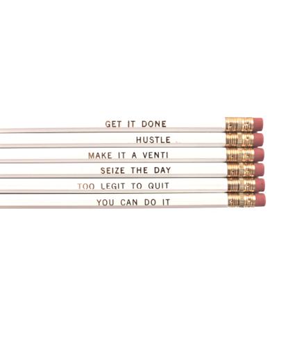 #WhistleWhileYouWork Pencil Set